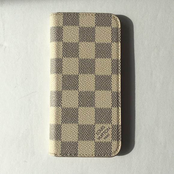 7290b71eca18 Louis Vuitton Accessories - Louis Vuitton Damier Azur iPhone 6 Cell Phone  Case